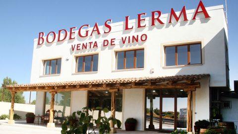 Fachada de Bodegas Lerma