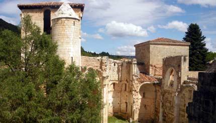 Ruinas de San Pedro de Arlanza